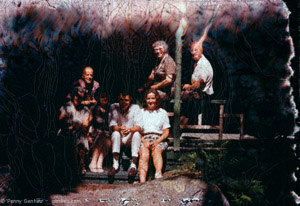 Family on the Porch                Family on the Porch, 1950's Confabulations Series